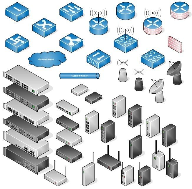 awesome libreoffice network diagram iconslibre office cisco shapes