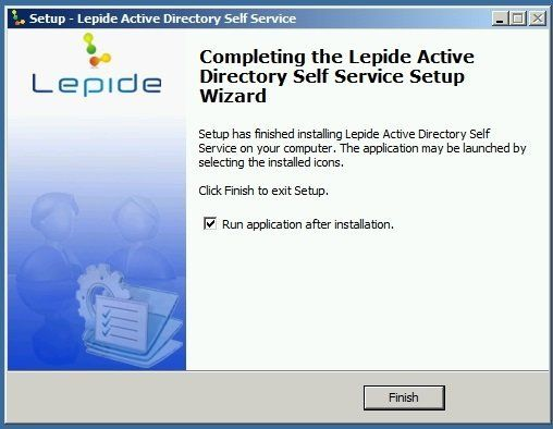 lepide self service manager