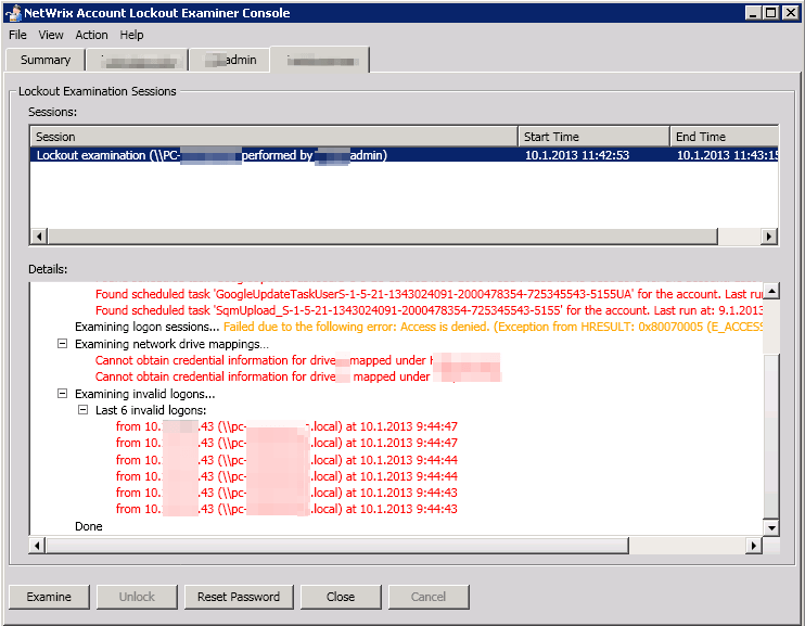 Netwrix_lockout_examiner_examine