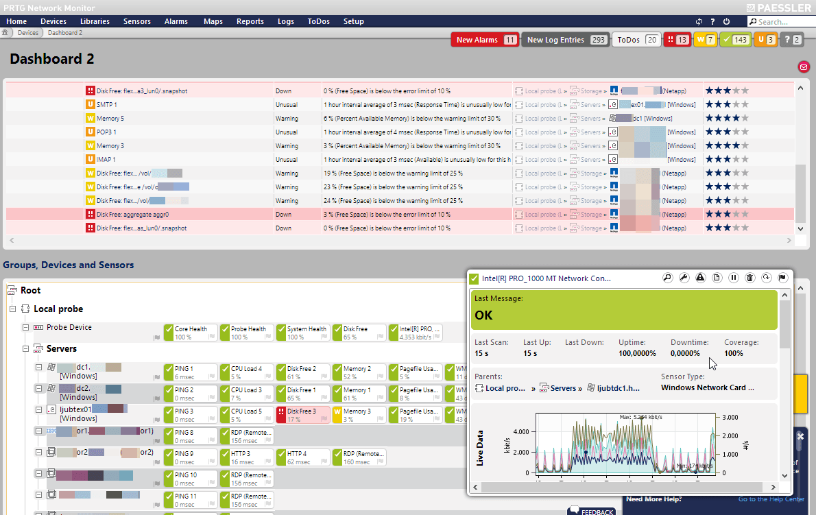 Review Prtg Network Monitor With New Ui Itsmdaily Com