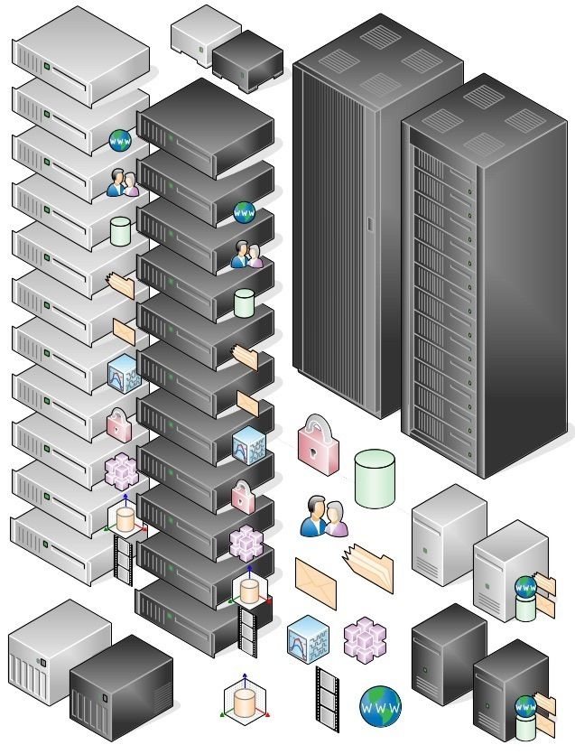 Awesome Libreoffice Network diagram icons