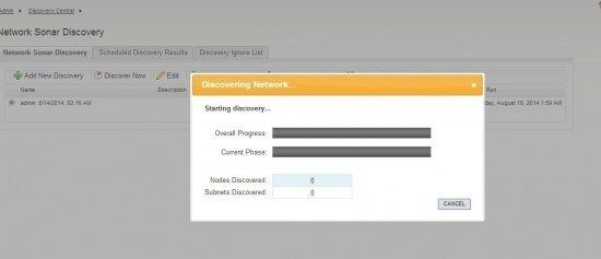 solarwinds-npm-discovery