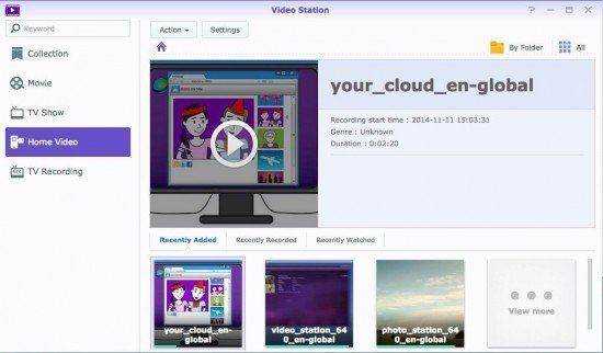 dsm 5.1 video station