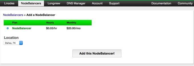 linode-node-balancer