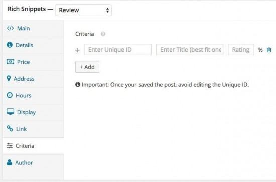 wp-rich-snippets-criteria