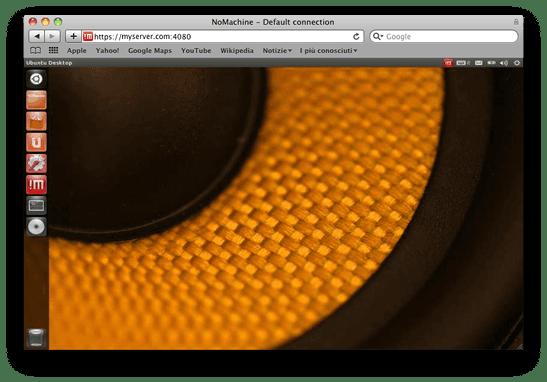 NoMachine - Remote desktop based on NX technology