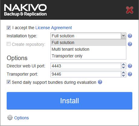 nakivo-synology-options-installation