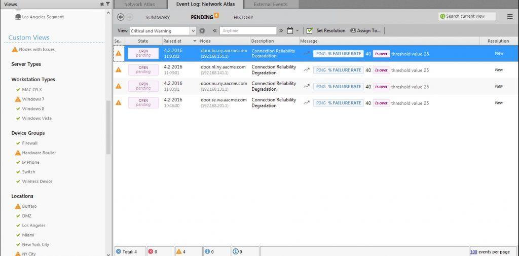 netcrunch-event-log