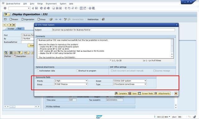 STA-Ticket-System-Spiceworks-Integration-2-Main-screen