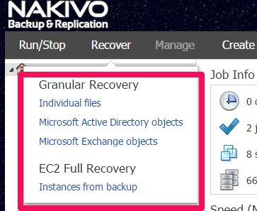 nakivo-restore