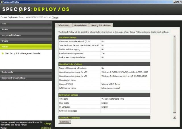 Specops Deploy review, great tool for the big boys
