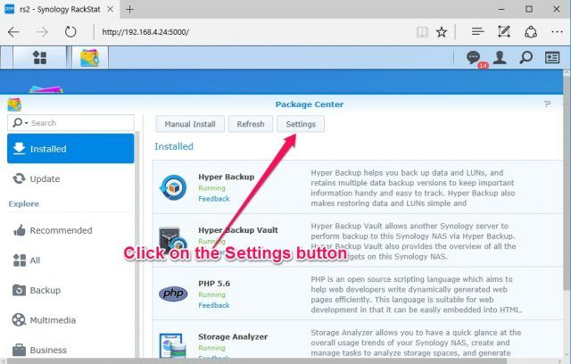 install-nakivo-synology-package-center-settings-button