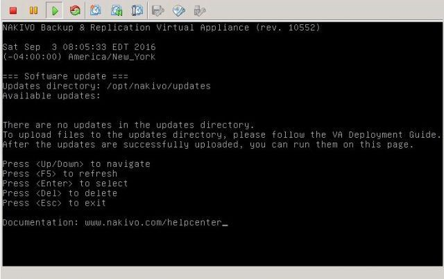 nakivo-virtual-appliance-configuration-software-update