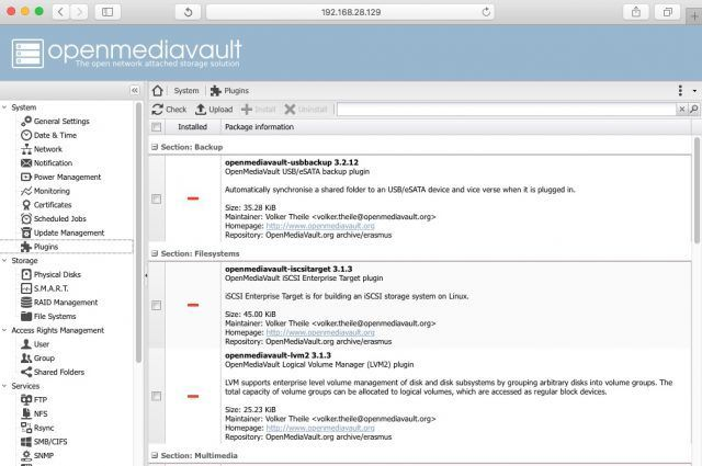 openmediavault-plugins