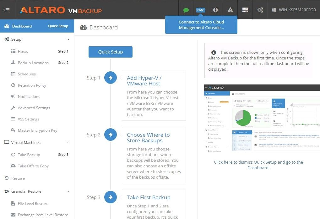 Altaro VM Backup 7 Review - Best release ever - ITSMDaily com